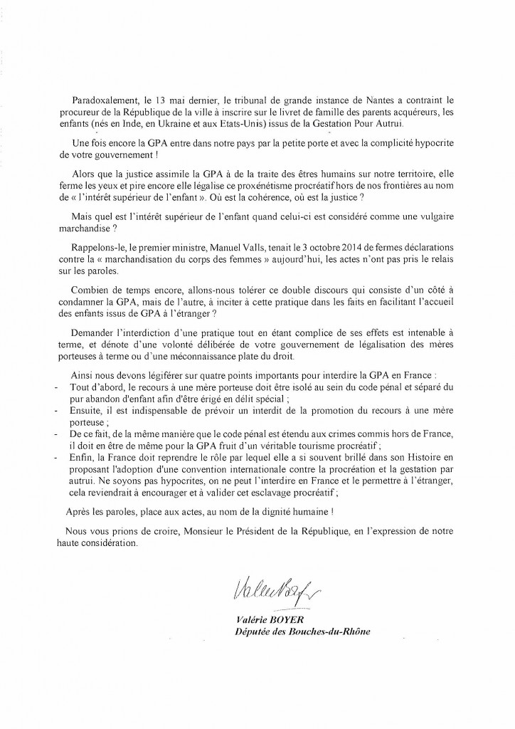 Lettre Hollande GPA_2